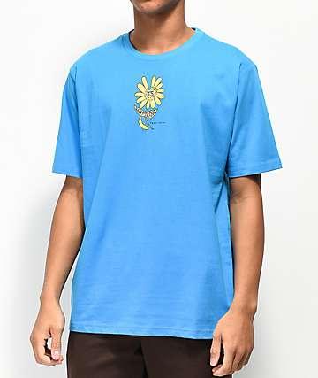 Teddy Fresh Glitter Daisy Blue T-Shirt