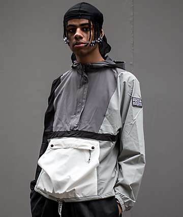 Teddy Fresh Greyscale Anorak Jacket