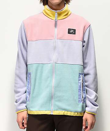 Teddy Fresh Multicolor Fleece Jacket