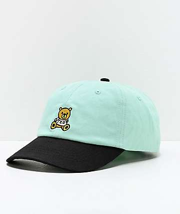 Teddy Fresh New Bear Mint & Black Strapback Hat