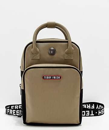 Teddy Fresh Olive & Black Mini Backpack