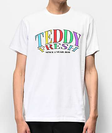 Teddy Fresh Since 1 Year Ago White T-Shirt