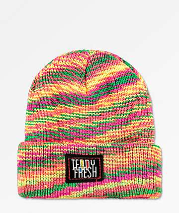 Teddy Fresh Spacedye Multicolored Beanie