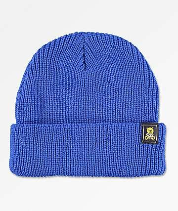 Teddy Fresh Ted Logo Blue Beanie
