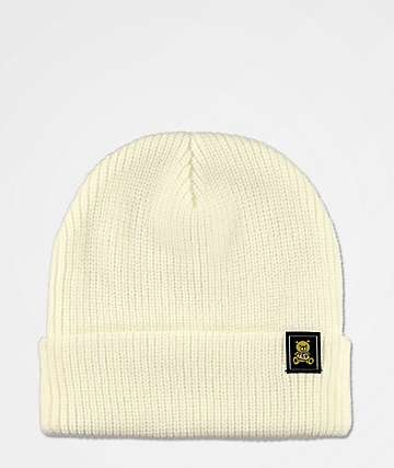 Teddy Fresh White Beanie