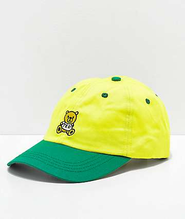 Teddy Fresh Yellow & Green Strapback Hat