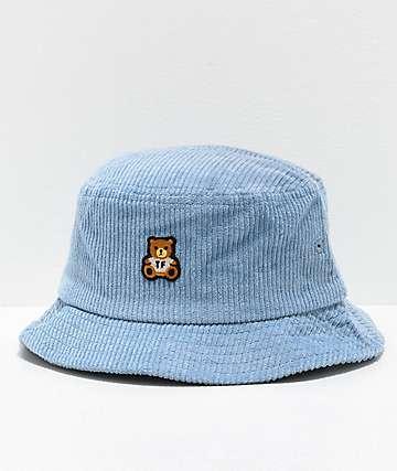 Teddy Fresh sombrero de cubo de pana azul