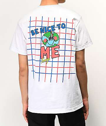 Teenage Be Nice White T-Shirt