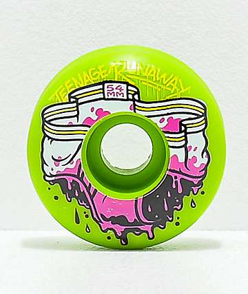 Teenage Runaway Dirty Undies 54mm 101a Skateboard Wheels