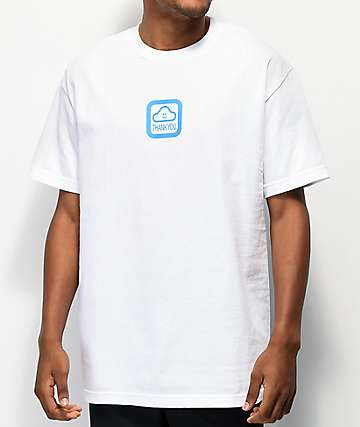 Thank You Cloud Of Fortune White T-Shirt
