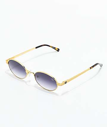 The Gold Gods The Ares Black Gradient Sunglasses
