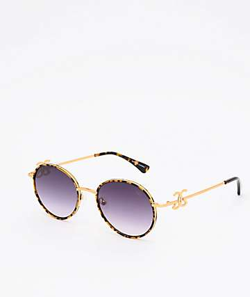 The Gold Gods The Iris Dark Tort & Black Sunglasses