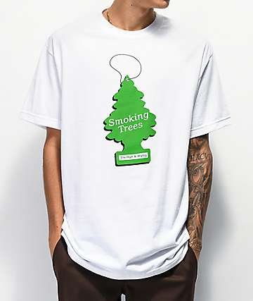 The High & Mighty Mad Trees White T-Shirt