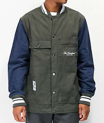 The Hundreds Central Green Work Jacket