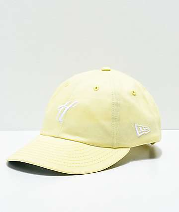 The Hundreds Ground Yellow Strapback Hat