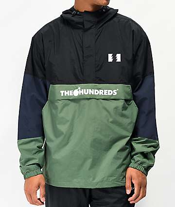 The Hundreds Landor Black Anorak Jacket