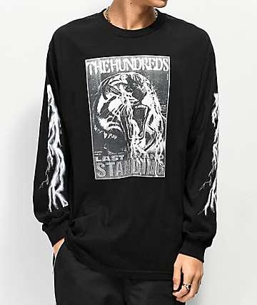 The Hundreds Last Beast Black Long Sleeve T-Shirt
