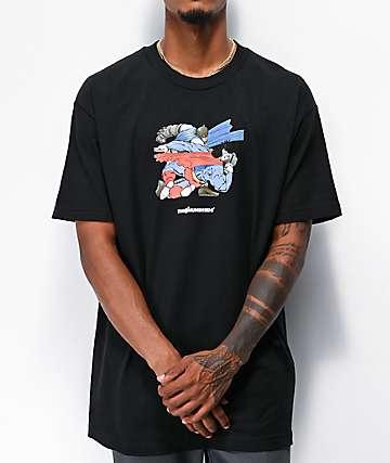 The Hundreds x Batman Punch Black T-Shirt