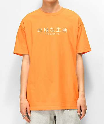 The Quiet Life Japan Orange T-Shirt