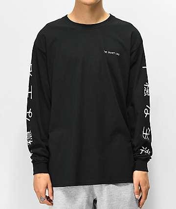 The Quiet Life Japan camiseta negra de manga larga