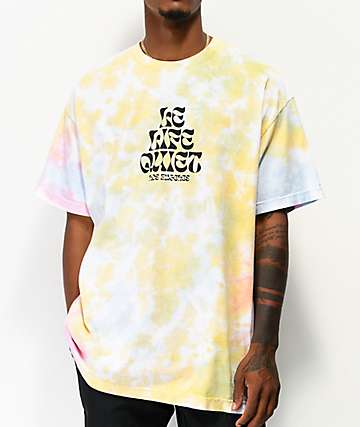 The Quiet Life Psych Yellow, Pink & Blue Tie Dye T-Shirt