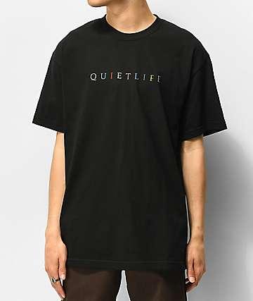 The Quiet Life Rainbow camiseta negra