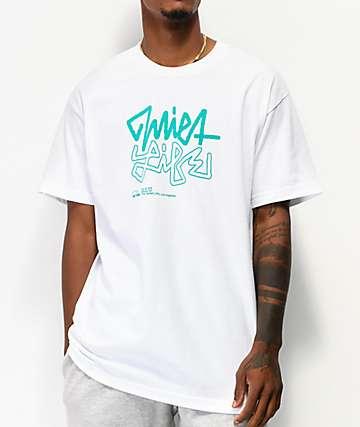 The Quiet Life Studio camiseta blanca y verde