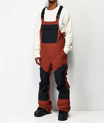 ThirtyTwo Basement Brick 10K Snowboard Bib Pants