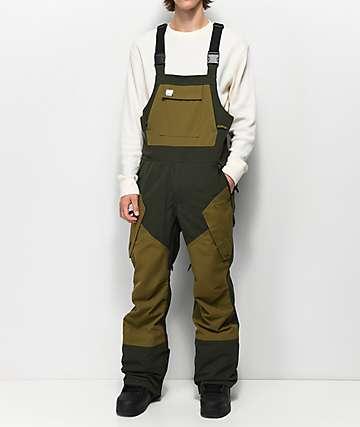 ThirtyTwo Basement Military 10K Snowboard Bib Pants