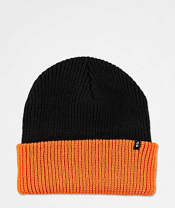 ThirtyTwo Basixx Two Tone Orange & Black Beanie