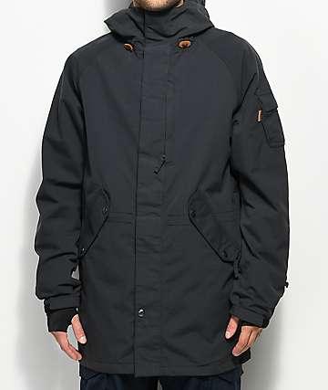 ThirtyTwo Deep Creek Black 10K Snowboard Jacket