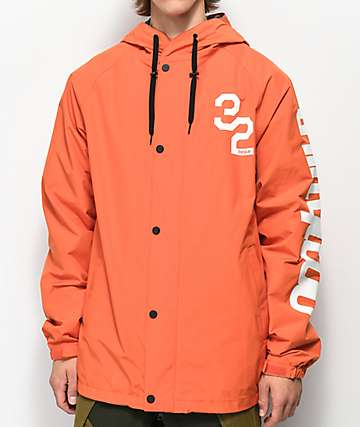ThirtyTwo Grasser Orange 10K Snowboard Jacket