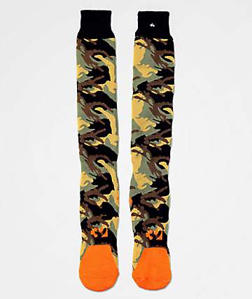 ThirtyTwo Grifter Camo Snowboard Socks