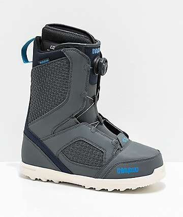 ThirtyTwo STW Boa Slate Grey Snowboard Boots 2020