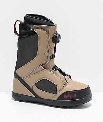 ThirtyTwo STW Boa Warm Grey Snowboard Boots 2020