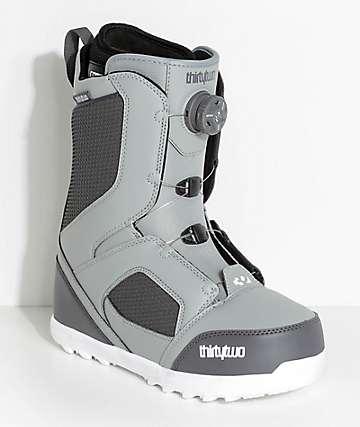 ThirtyTwo STW Grey Boa Snowboard Boots