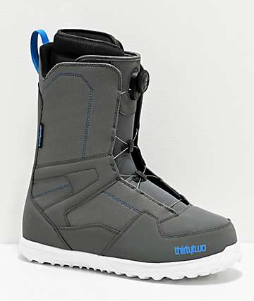 ThirtyTwo Shifty Boa Grey Snowboard Boots 2020