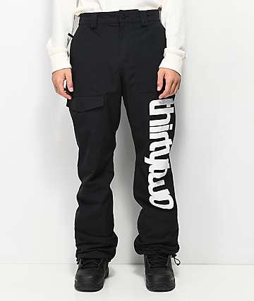 ThirtyTwo Sweeper Black Snowboard Pants