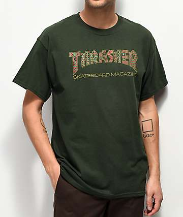 Thrasher Davis Forest Green T-Shirt