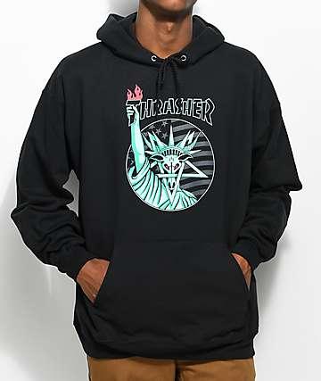 Thrasher Liberty Goat Black Hoodie
