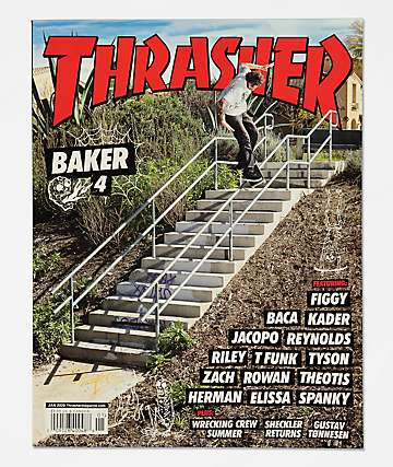 Thrasher Magazine January 2020