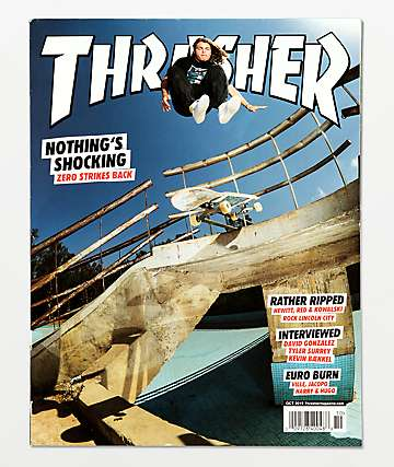 Thrasher Magazine October 2019