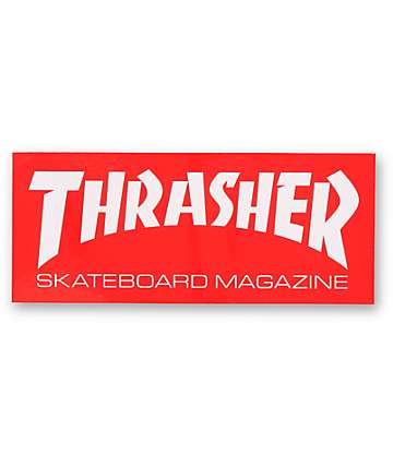 Thrasher Skate Magazine Logo Sticker