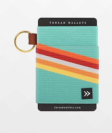 Thread Fleet Key Ring Wallet
