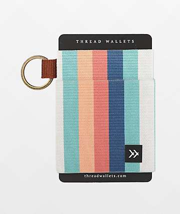 Thread Kora Rainbow Key Ring Wallet
