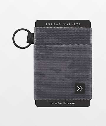 Thread Micah Black Key Ring Wallet