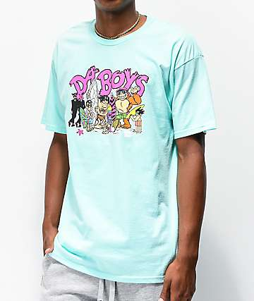 Thrilla Krew Da Boys Remix Light Teal T-Shirt