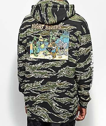 Thrilla Krew Nightrider Black Hoodie