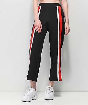 Tiger Mist Highway Black Culottes Pants