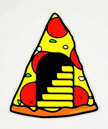Tough Times Pizza Portal Sticker